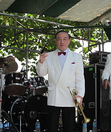 Photo of Yoshio Toyama in New Orleans Satchmo Summer Fest 2010