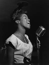 Photo above of Sarah Vaughan