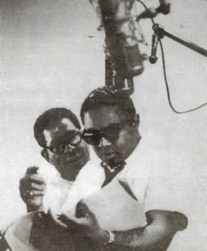 Photo above of Gil Fuller with Dizzy Gillespie(1963)