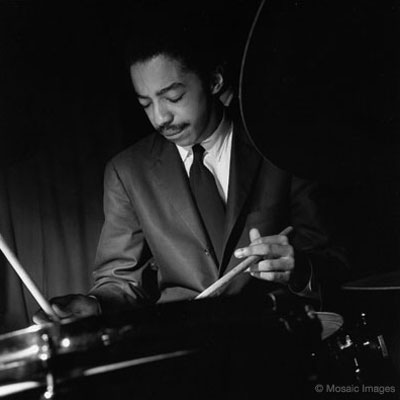 Photo above of TonyWilliams from Drummerworld