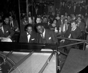 Photo above of Eroll Garner with Art Tatum from hipstersanctuary.com