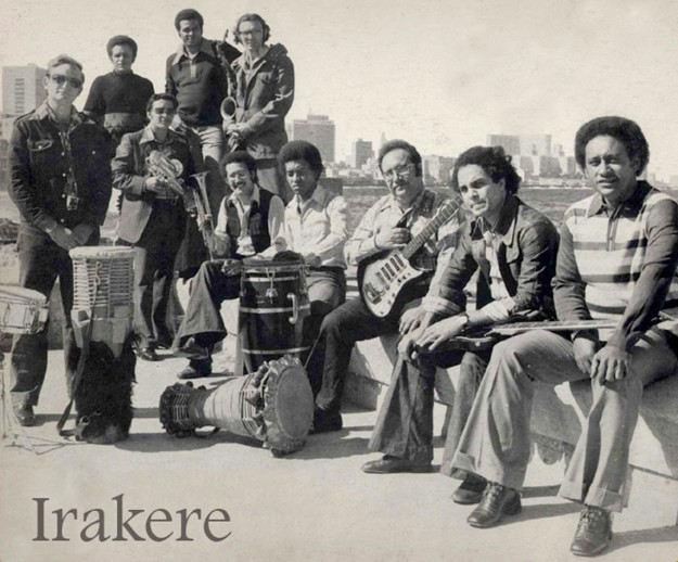 Photo above of Irakere from OKMusic