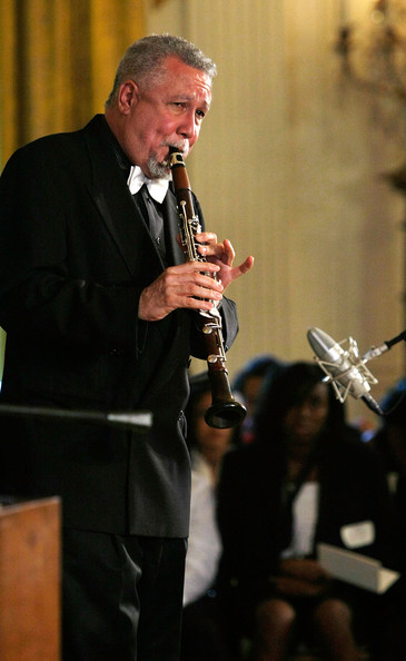 Photo above of Paquito D'Rivera from First Lady Michelle Obama Hosts Jazz Studio At White House